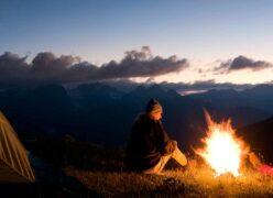 Eine Website für ein Lagerfeuer