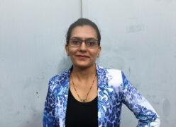 Der Preis für die weiteste Anreise geht an: Chetna Vaghasiya